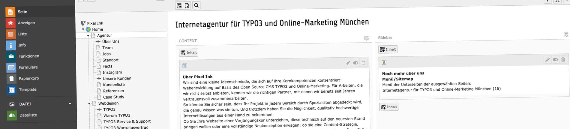 TYPO3 Agentur München