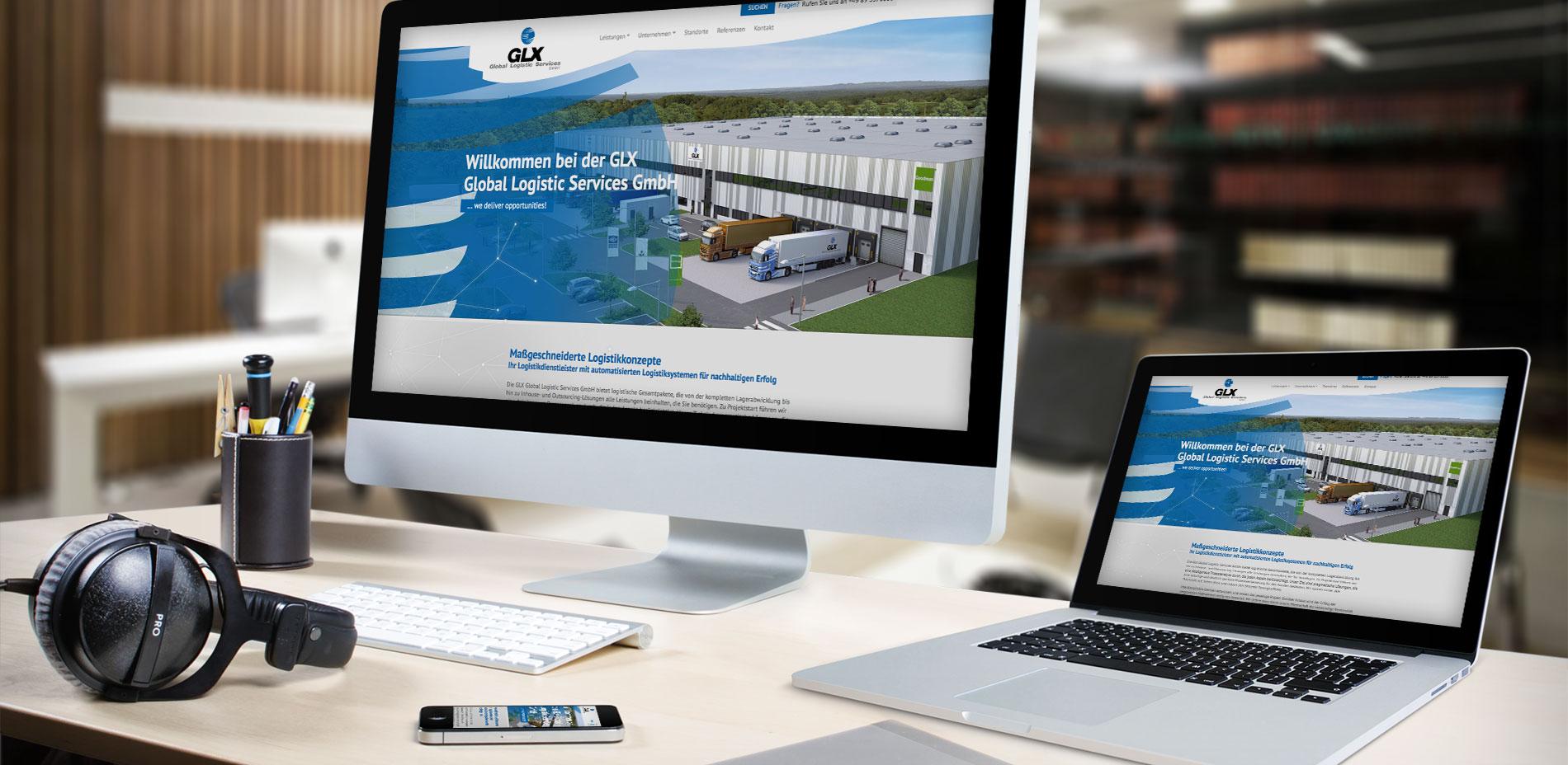 GLX Logistik TYPO3 CMS